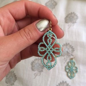 Francesca's Collections Jewelry - Francesca's earrings - turquoise dangling